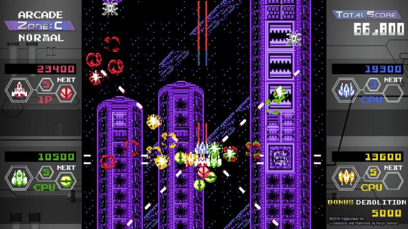 Quad Fighter K Blasts into Nintendo eShop Today!