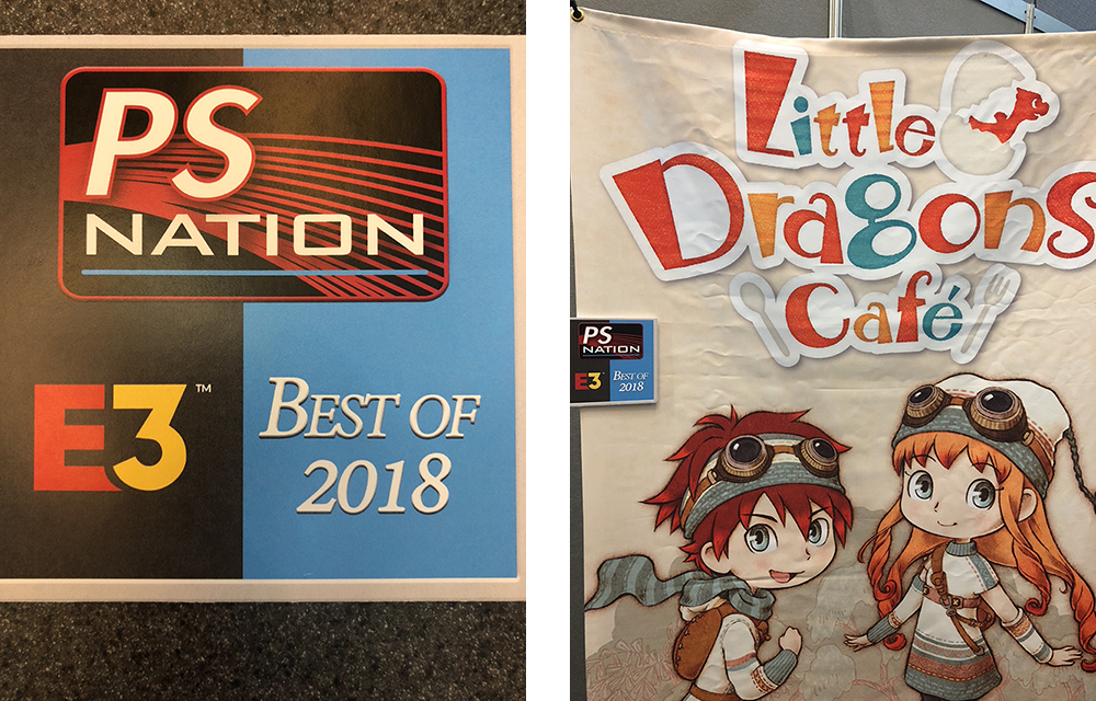 Little Dragons Café Snags E3 Best of 2018 Award from PS Nation!