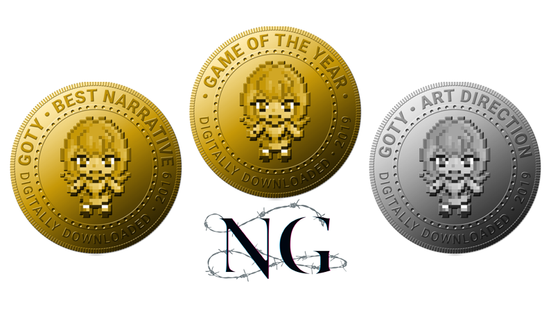 Spirit Hunter: NG awarded Game of the Year 2019!